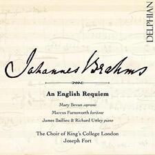 Mary Bevan Marcus Farnsworth - Brahms: An English Requiem (NEW CD)