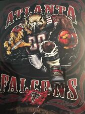 Rare 2009 Atlanta Falcons NFL Football Poster Grinding It Out Since 1966