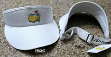 2018 MASTERS (White) TOUR VISOR from Augusta National