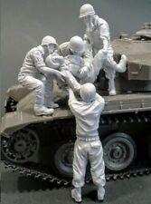 "1/35 ""Tank Casualty"" Resin Model (5 Figures) Unassambled Unpainted (no tank)"