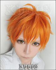 Cosplay Perücke Haikyuu hinata shyouyou Short orange mix Anime Perücke haar