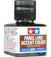 TAMIYA 87132 Panel Line Accent Color Brown For Plastic Model Kit 100% Authentic