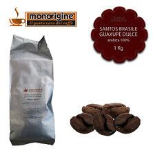 Caffè in Grani Santos Brasile Guaxupè Dulce 1 Kg - Caffè Monorigine Arabica 100%