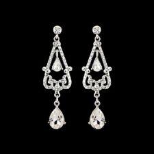 NEW! Extravagant Elegance Crystal Chandelier Earrings/Bridal Jewellery
