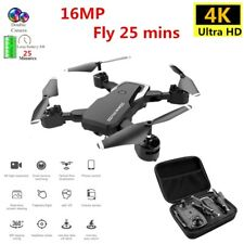 Eachine FPV RC 4K HD Camera WiFi Follow Me Quadcopter 25 Min Foldable GPS Drone.
