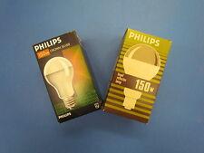 Philips Ciotola Riflettore Lampadina E27 150w opaco Cupola Argento a Specchio