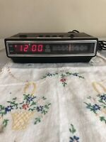 Vintage General Electric AM/FM Alarm Clock Model No. 7-4625C Tested Works!
