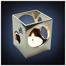 ArtsOnDesk Modern Art Tea Light Holder Mr113 Stainless Steel Mirror Polish