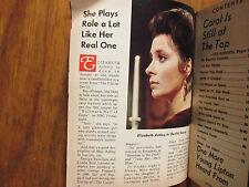 Nov 16-1969 Boston Sunday Herald TV Mag(ELIZABETH ASHLEY/GAIL FISHER/TOM JONES