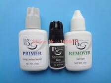 1 set Eyelash Extensions Kit Primer Sensitive Glue Remover for Eyelash Extension