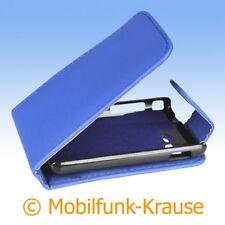 Flip Case Etui Handytasche Tasche Hülle f. Samsung Star 3 Duos (Blau)