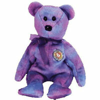 TY Beanie Baby - CLUBBY 4 the Bear (Gold Button) (8.5 inch) - MWMTs Stuffed Toy