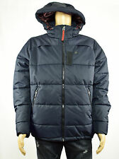 G-Star Raw Mens Navy Detachable Hood Whistler Quilted Jacket Coat XL