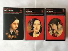 MILLENIUM 3 VOLUMES STIEG LARSSON BABEL NOIR TRILOGIE FORMAT POCHE