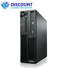 Lenovo Thinkcentre Desktop Computer Windows 10 Intel Core i3 Pc Wifi 4Gb 250Gb