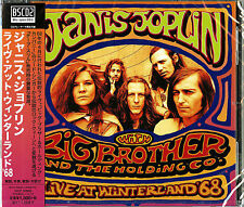 JANIS JOPLIN-LIVE AT WINTERLAND'68-JAPAN Blu-spec CD2 D73
