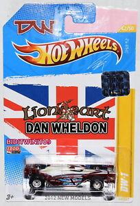 Hot Wheels 2012 Neuf Modèles Dan Wheldon DW-1 Usine Scellé