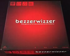 Bezzerwizzer Board Game 2008 The Game Of Trivia, Tactics, And Trickery *Complete