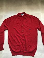 Vivienne Westwood MAN red cardigan mens  size Large
