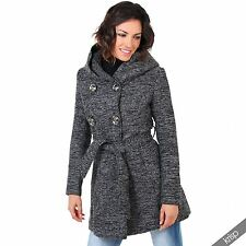 Polyester Outdoor Double Breasted Coats & Jackets for Women