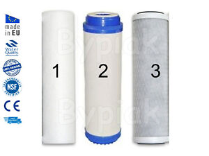 """Brand New 3 Stage whole house high flow home water filter replacements 10"""""""