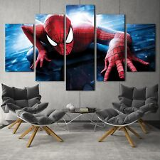 Spiderman marvel 3 Game 5PCS HD Canvas Print Home Decor Picture Wall Painting