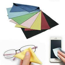 "100pcs,Eyeglasses Cleaner, 4""x6"", Microfiber, 5 Mixed Color, iPhone, Smartphone"
