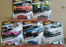 Hot Wheels Car Culture Modern Classics Volkswagen Nissan Honda lot de 5 (NG153)