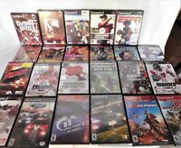 Lot Of 23 + PS2 Games: Football, Racing, Action, and more. All Tested and Work!