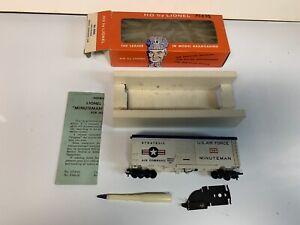 Lionel HO  0365 Minuteman Missile Launching Car Not Broken  Excellent