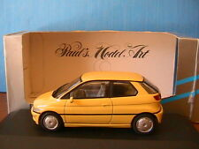 BMW E1 YELLOW MINICHAMPS 123000 1/43 JAUNE GELB 2 PORTES TWO DOORS