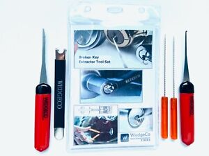 WedgeCo's Patented Broken Key Remover / Extractor Tool Set