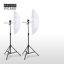 HAUSER & PICARD 2x Fotostudio Durchlichtschirm