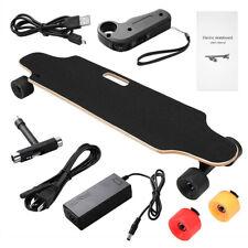 20km/h Elektro Skateboard Longboard E-Scooter Board m. Fernbedienung Doppelmotor