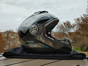 Nolan N44 Evo Viewpoint Modular Helmet + NCOM B901L-R Bluetooth Headset/Intercom