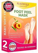 Foot Peel Mask - Peach Peeling 2 Pack - Dermatologically Tested Cracked Heel