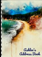 """Address Book with Web Pages """"Cliff Beach"""""""