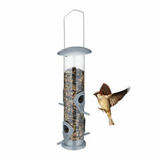 Vogelfutterspender zum Aufhängen Vogelfutterstation Futterröhre Futtersäule Silo