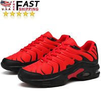 Men's Air Cushion Running Shoes Fashion Casual Breathable Athletic Sneakers US