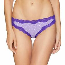 Calvin Klein Corquette Micro Thong Purple Spaced Stripe X-Large