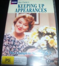 Keeping Up Appearances Season 1 & 2  (Australia Region 4) DVD – New