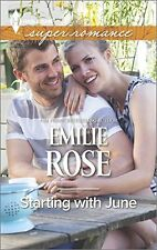 Starting with June (Harlequin Super Romance (Large