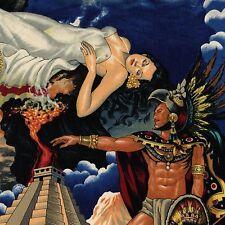 ALEXANDER HENRY Aztec Legend FOLKLORICO Fabric Half Yard MEXICAN History PYRAMID