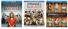 New Sealed Orange Is The New Black - Seasons One Two Three 1 2 3 Blu-ray 1-3