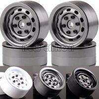 """4PCS 1.9"""" Aluminum Beadlock Wheel Rim RC 1/10 Rock Crawler SCX10 TRX-4 D90"""