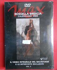 dvd rossella brescia calendario max 2004 backstage video foto interviste photo f