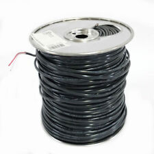 Black 1000 ft 18//2 Solid Cu Burial Sprinkler System Wire Armored Electric Cable
