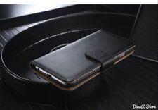 design cuir véritable étui pour Apple iPhone 8 PLUS ÉTUI COQUE - Noir (1SC)