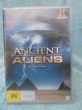 ANCIENT ALIENS SERIES THREE(HISTORY)4 DISC BOXSET PG R4 DVD