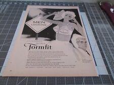 "1959 FORMFIT ""Rave"" Bra - Men Looking Sign - Sexy Woman - Retro VINTAGE AD"